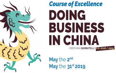 DOING BUSINESS IN CHINA - inizio 2 maggio 2019